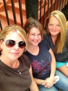 I love this selfie of all us three gals!
