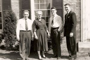 Family Portrait Early 1950s